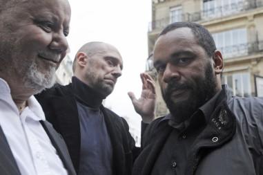 """Yahia Gouasmi du """"Parti antisioniste"""" et ses compères Dieudonné et Soral"""