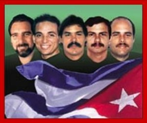 Les cinq antiterroristes cubains emprisonnész aux USA
